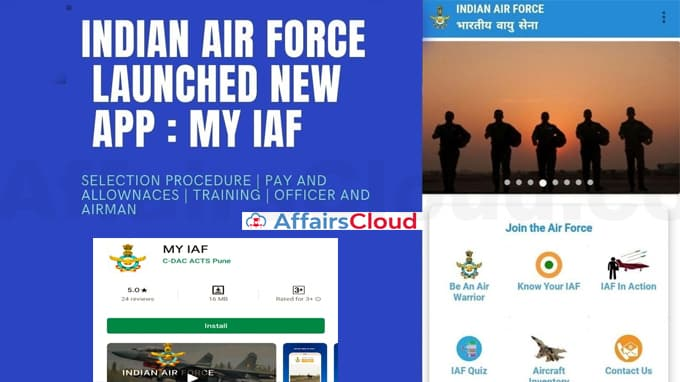 IAF-launches-mobile-app-'MY-IAF'