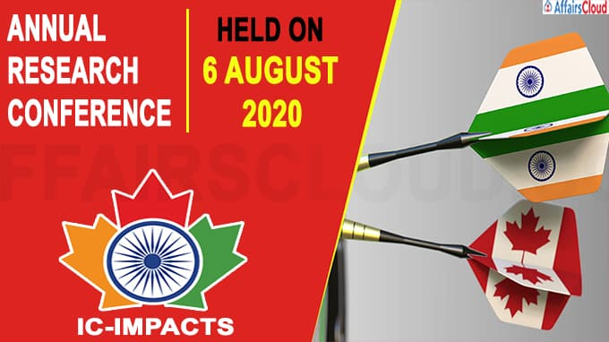 India-Canada IC-IMPACTS Annual Research Conference