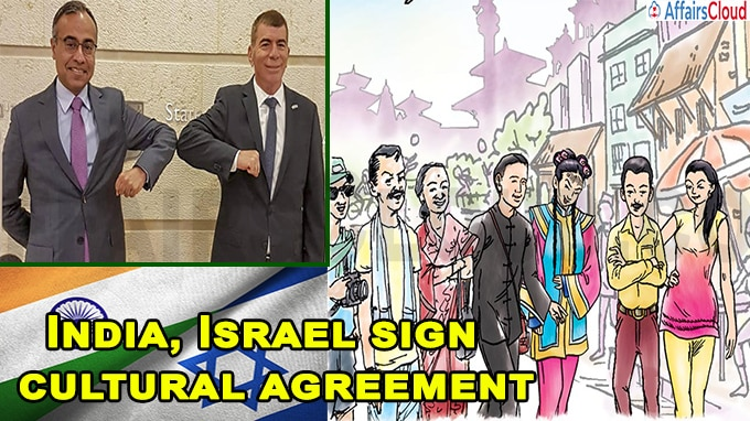 India, Israel sign cultural agreement