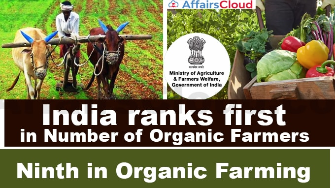 India-ranks-first-in-number-of-organic-farmers-and-ninth-in-terms-of-area-under-organic-farmingMinistry-of-Agriculture-&-Farmers-Welfare