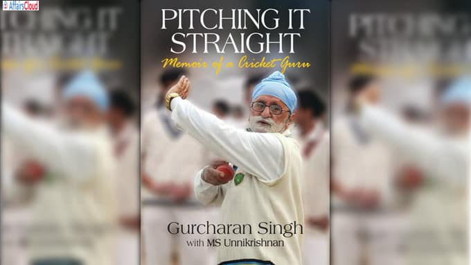 Indian Cricket coach Gurcharan Singh Penned a book