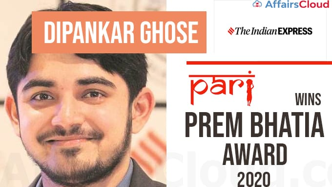 Indian-Express-reporter-Dipankar-Ghose-and-People's-Archive-of-Rural-India-win--Prem-Bhatia-award-2020