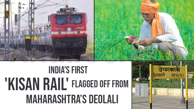 India's-first-'Kisan-Rail'-flagged-off-from-Maha's-Deolali