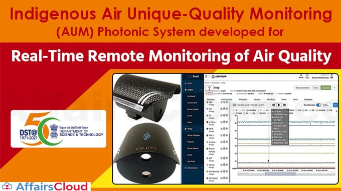 Indigenous-Air-Unique-quality-Monitoring-(AUM)-Photonic-System-developed-for-Real-Time-Remote-Monitoring-of-Air-Quality