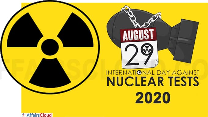 International Day against Nuclear Tests 2020