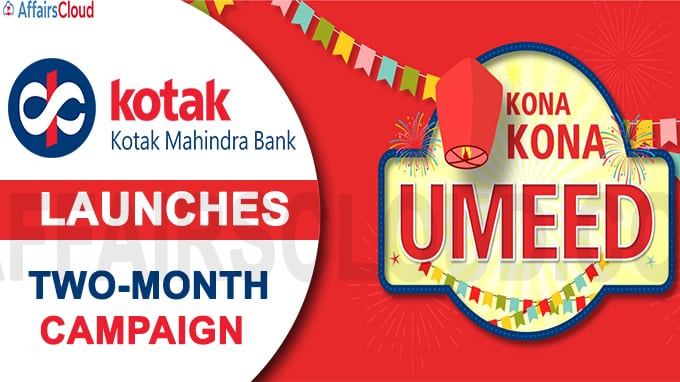 Kotak Mahindra Bank launches two-month campaign new