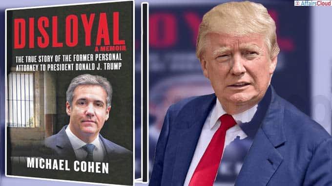 """Michael Cohen book """"Disloyal"""