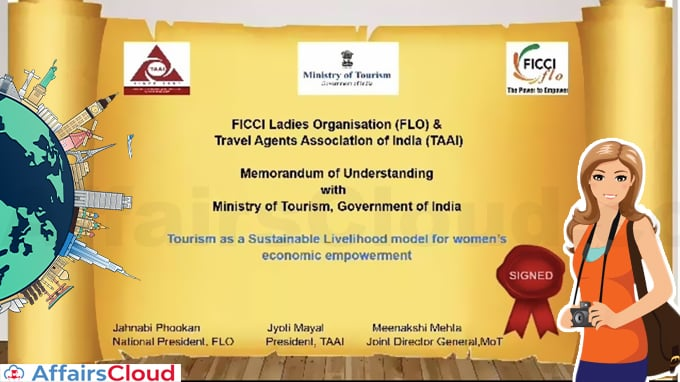 Ministry-of-Tourism-virtually-signs-an-MoU-with-Travel-Agents-Association-of-India-(TAAI)-&--FICCI-Ladies-Organisation(FLO)-t
