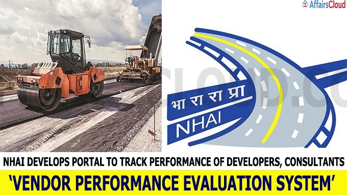 NHAI develops portal to track performance of developers