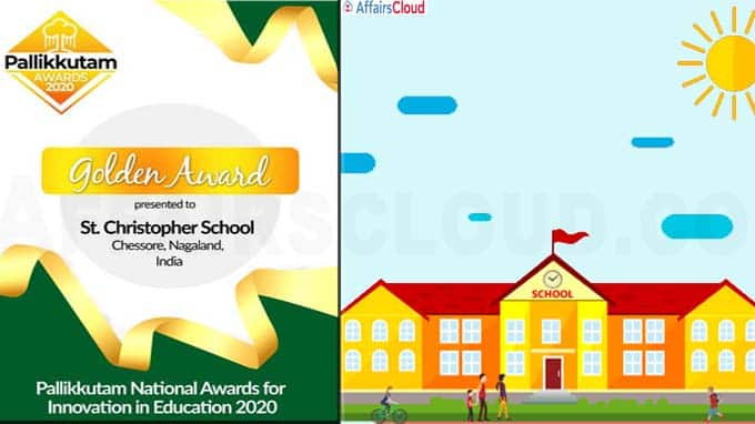 Nagaland St Christopher School wins Pallikkutam National Award for Innovation in Education 2020