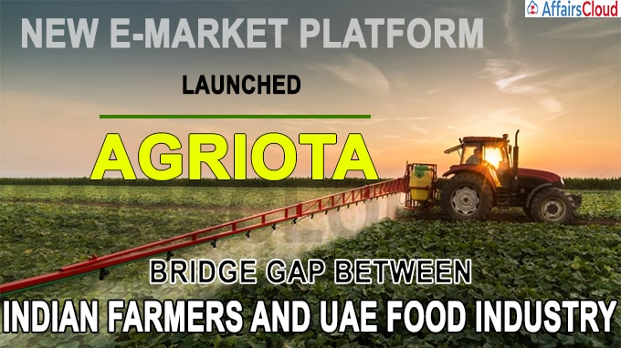 New e-market platform Agriota launched