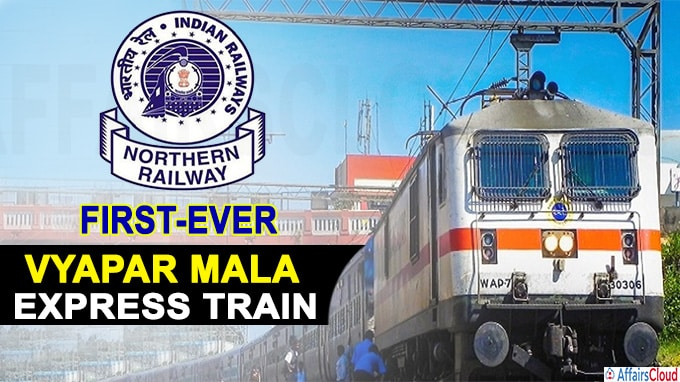 Northern Railway runs first-ever Vyapar Mala Express train
