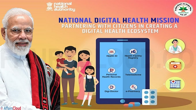 PM announces launch of National Digital Health Mission