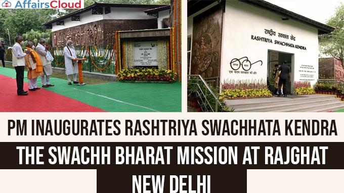 PM-inaugurates-Rashtriya-Swachhata-Kendra