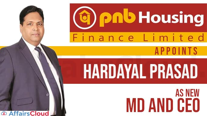 PNB-Housing-Finance-appoints-ex-SBI-Card-head-Hardayal-Prasad-as-new-MD-and-CEO