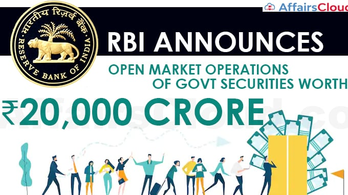 RBI-announces-OMO-of-govt-securities-worth-₹20,000-crore