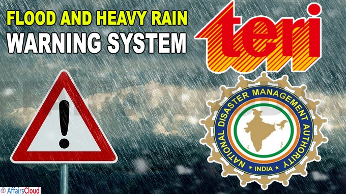 TERI launches flood and heavy rain warning system