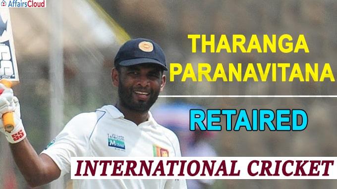 Tharanga Paranavitana retires from international cricket