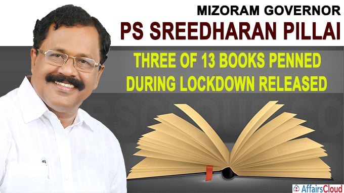 Three of 13 books penned during lockdown released