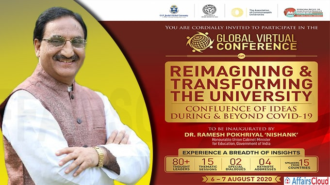 Two day Global Conference on Reimagining and Transforming the University