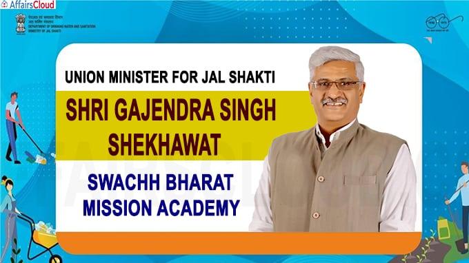 Union Minister for Jal Shakti, Shri Gajendra Singh Shekhawat