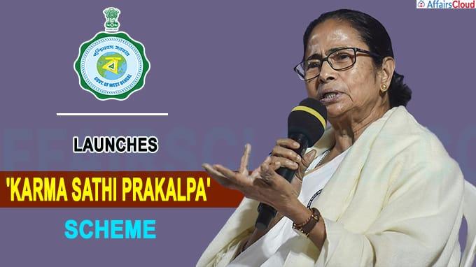 West Bengal govt launches 'Karma Sathi Prakalpa' scheme