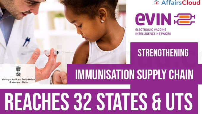 eVIN,-Aimed-at-Strengthening-Immunisation-Supply-Chain,-Reaches-32-States-&-UTs-Health-Ministry