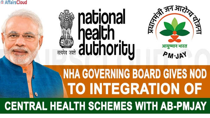 integration of central health schemes with AB-PMJAY