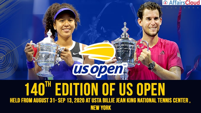 140th edition of US open