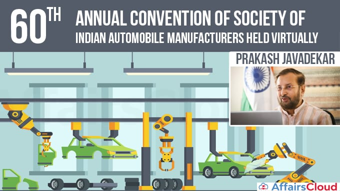 60th-annual-convention-of-Society-of-Indian-Automobile-Manufacturers-held-Virtually