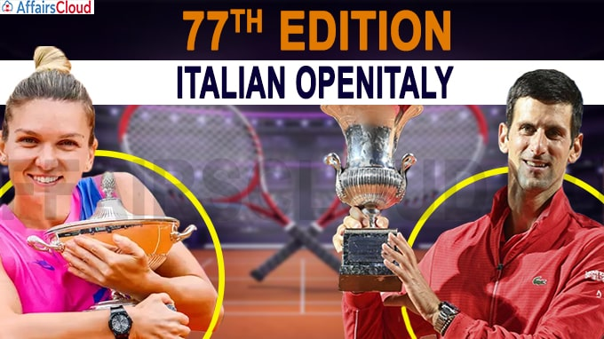 77th edition of the Italian OpenItaly