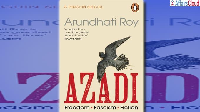 AZADI by Arundhati Roy - Penguin Books Australia