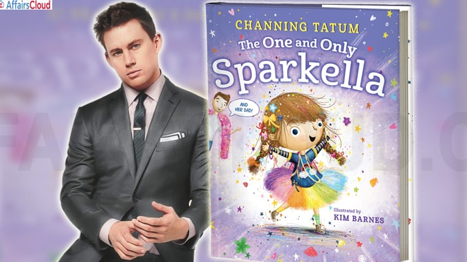 Actor Channing Tatum penned a book titled 'The One and Only Sparkella'