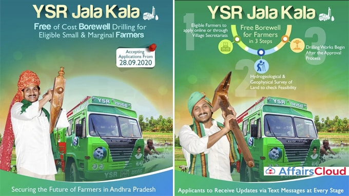 Andhra-Pradesh-CM-launches-YSR-Jala-Kala-scheme-to-dig-up-borewells,-offer-free-motors-for-small-farmers