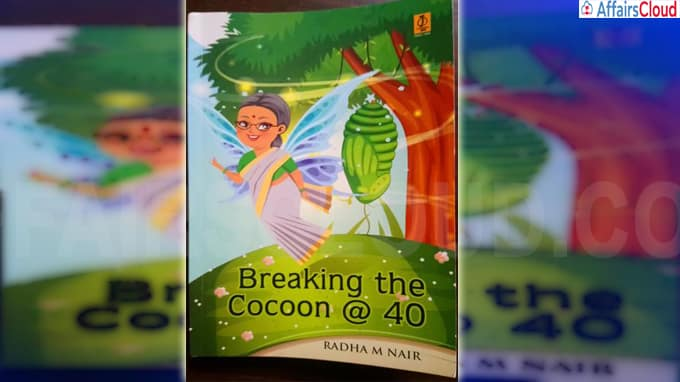 Book titled Breaking the Cocoon @ 40 authored by Radha Nair