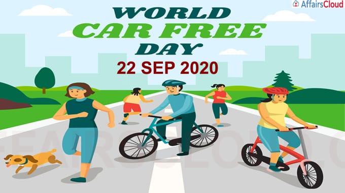 Car-Free Day - September 22 2020