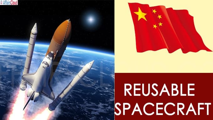 China successfully launches reusable spacecraft, keeps mission details secret(Write Static GK)