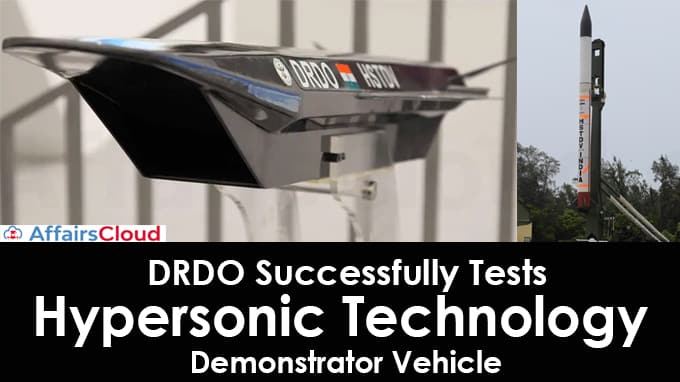 DRDO-successfully-tests-Hypersonic-Technology-Demonstrator-Vehicle