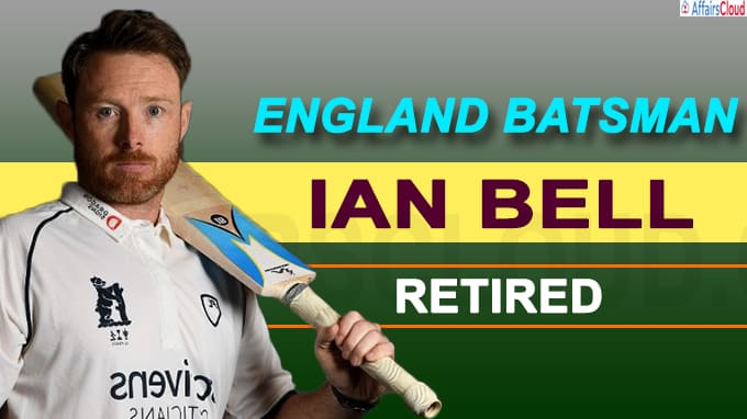 England batsman Ian Bell announces retirement from professional cricket