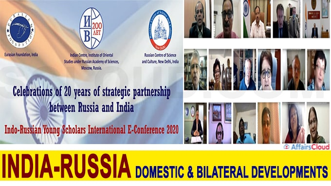 Eurasian Foundation organised Indo-Russian Young Scholars