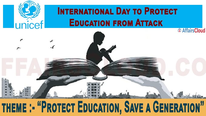 First International Day to Protect Education from Attack