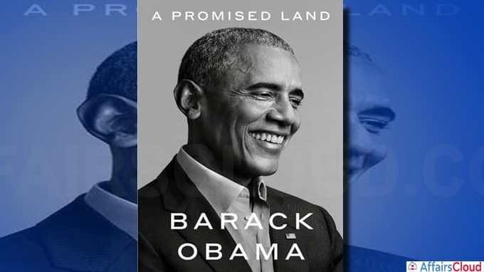 First volume of Barack Obama's memoir titled 'A Promised Land'