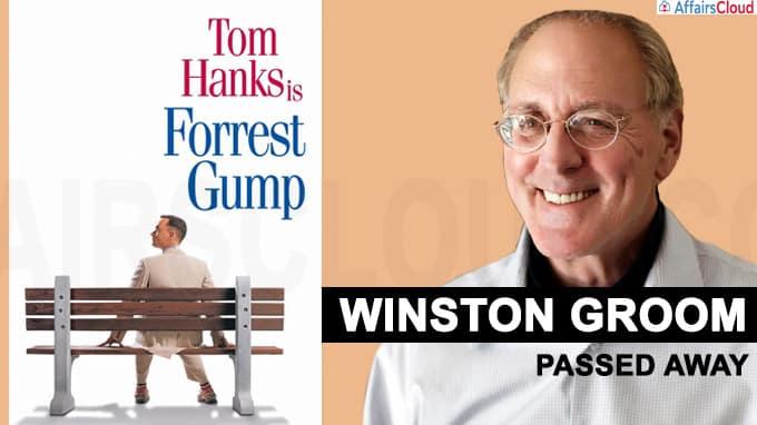 Forrest Gump' author Winston Groom passes away at 77