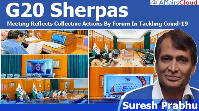 G20-Sherpas-Meeting-Reflects-Collective-Actions-By-Forum-In-Tackling-Covid-19