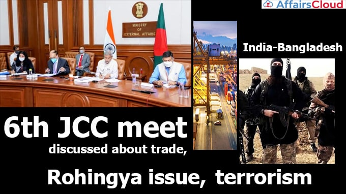 India-Bangladesh-6th-JCC-meet-discussed-about-trade,-Rohingya-issue,-terrorism