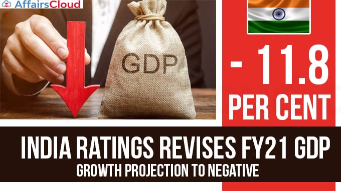 India-Ratings-revises-FY21-GDP-growth-projection-to-negative-11