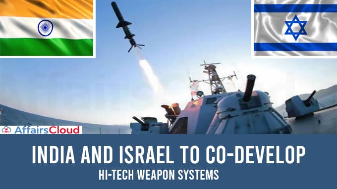 India-and-Israel-to-co-develop-hi-tech-weapon-systems