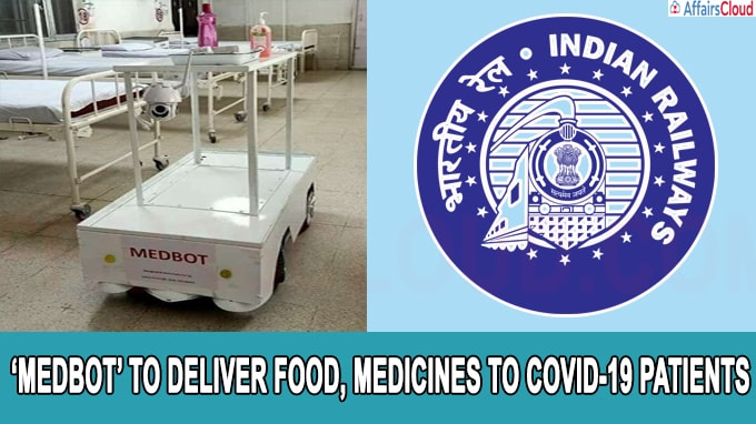 Indian Railways develops remote-controlled medical trolley 'MEDBOT' to deliver food, medicines to COVID-19 patients