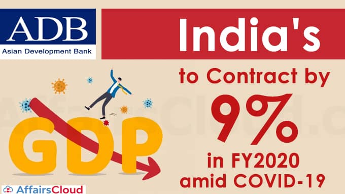 India's-GDP-to-contract-by-9-pct-in-FY2020-amid-COVID-19
