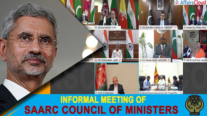 Informal Meeting of SAARC Council of Ministers